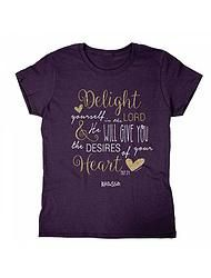 DELIGHT IN THE LORD T-Shirt www.limitlessboutique.com