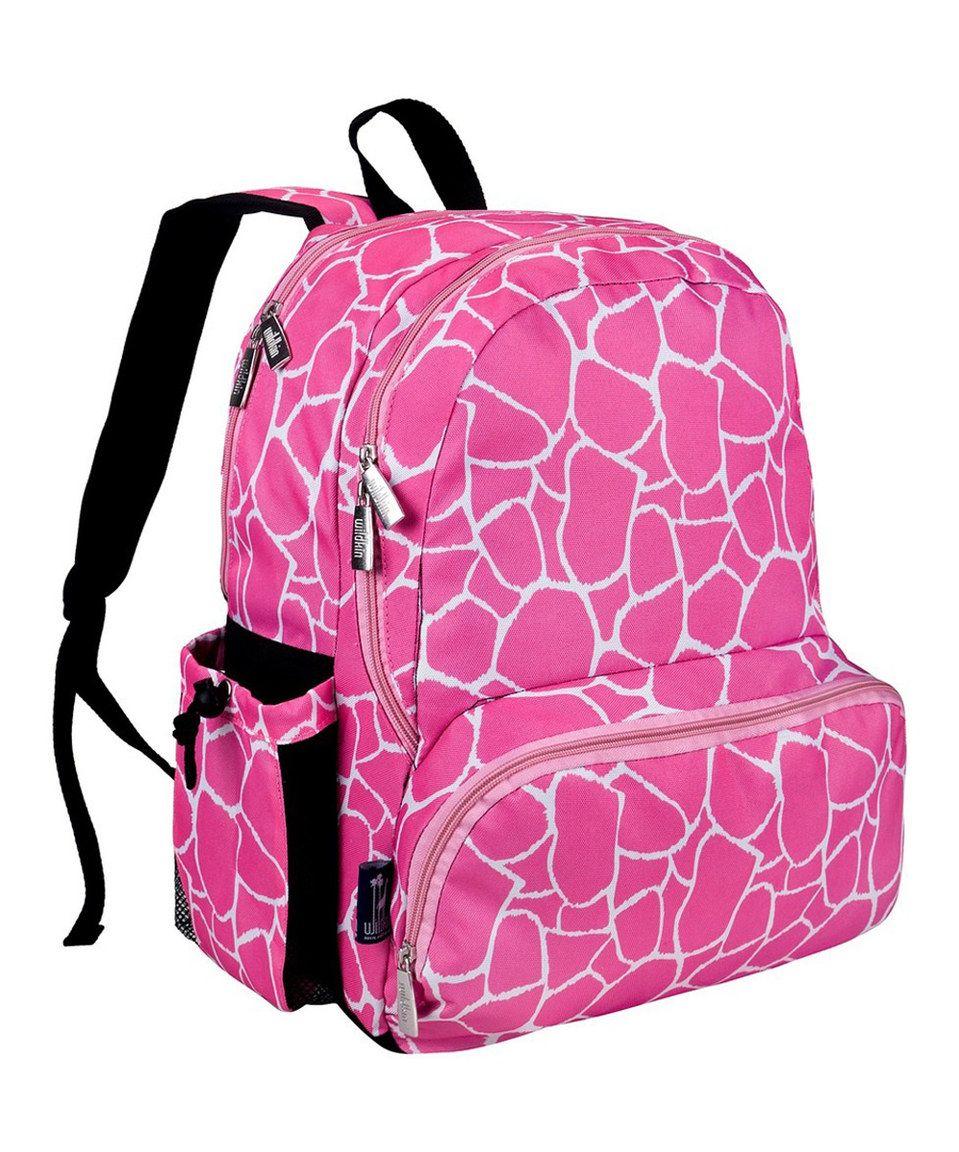 Wildkin Pink Giraffe Megapak Backpack by Wildkin #zulily #zulilyfinds