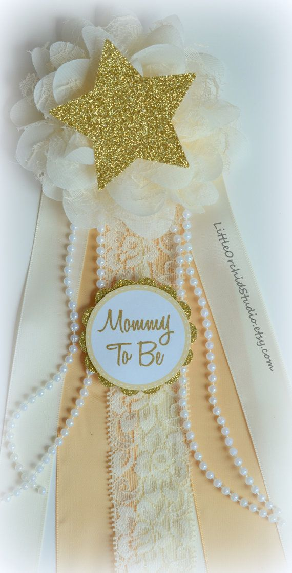 Twinkle Twinkle Little Star Mommy To Be Corsage Twinkle Star Baby