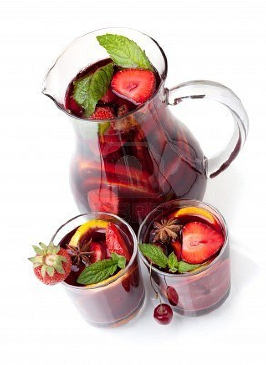 Yummy Yummy Yummy Sangria Fruit Sangria Fancy Drinks Yummy Drinks