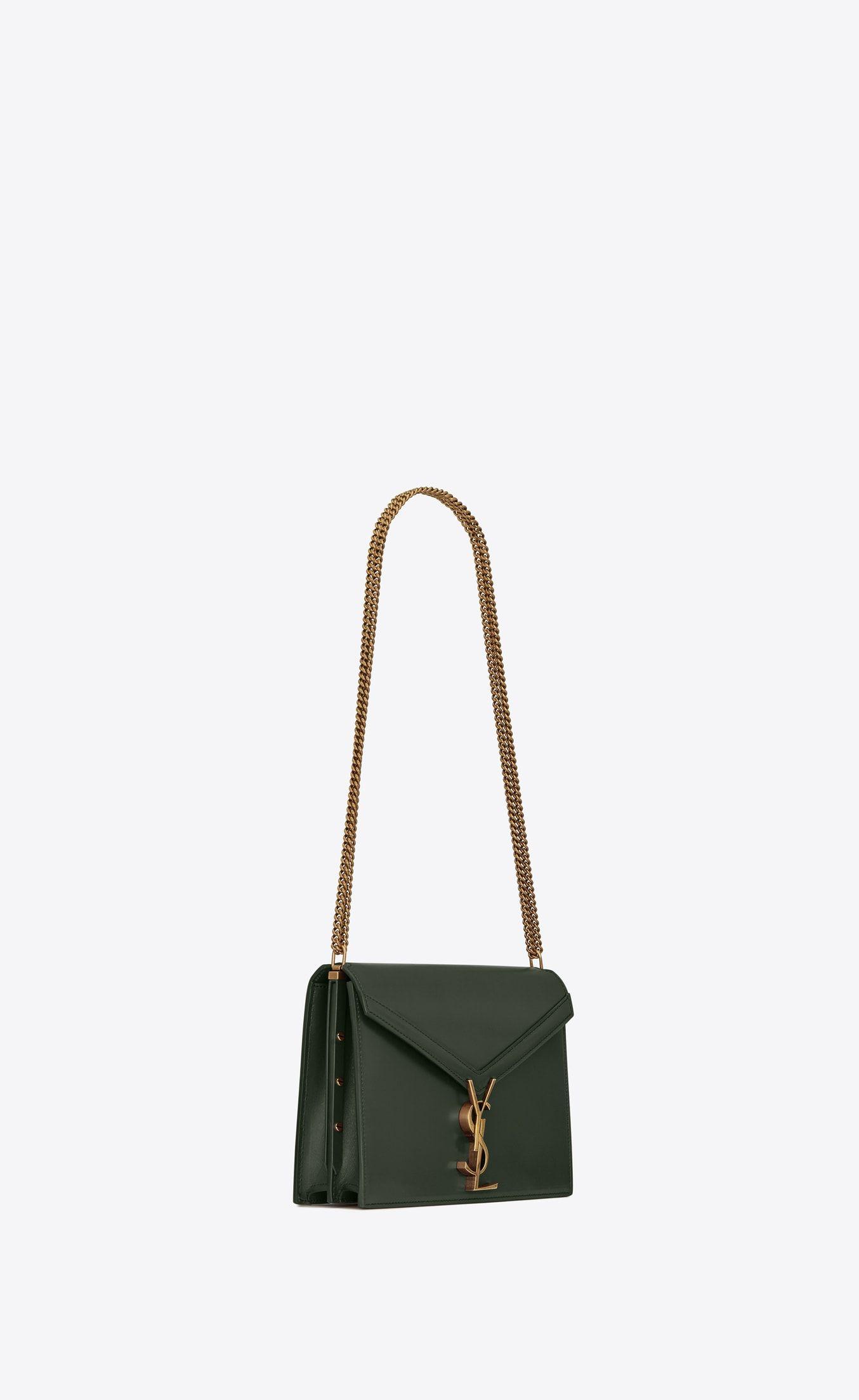 Cassandra monogram clasp bag in smooth leather  824d40e78e26e