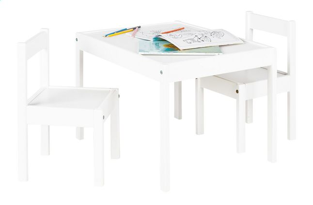 Tafel met stoelen kinderen bizconnect