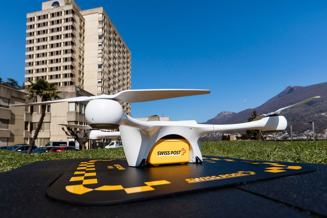 Switzerland's drone delivery program to resume after