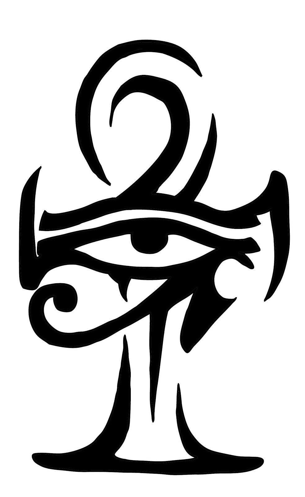 69d041379 Egyptian Eye & Ankh | Tattoos | Ankh tattoo, Horus tattoo, Egyptian ...