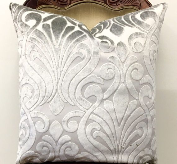 a kind products one of grey set snowflake velvet grande gray img silver charming pillow