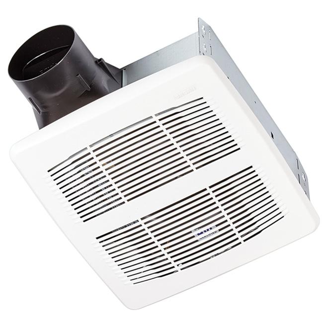 Broan Bathroom Fan Invent Series 80 Cfm Ar80c Rona Bathroom Fan Broan Bathroom Fan Light