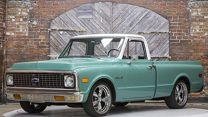 1972 Chevrolet C10 Pickup 250 155 Hp Short Bed Presented As Lot