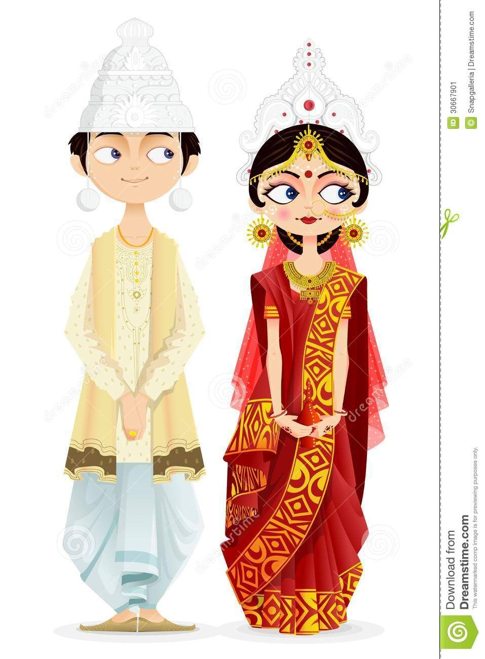 Bengali Wedding Couple - Download From Over 65 Million High Quality ...