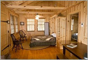 One Bedroom Cabin At Edisto Beach State Park Seven Cabins Are Completely Furnished Heated Air Conditioned And Supplied With Bath Bed Linens