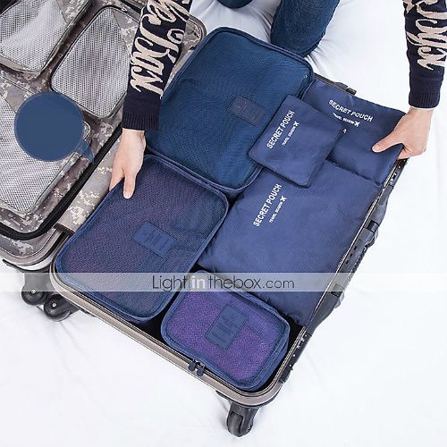 These luggage inserts ensure your things are packed neatly and remain that way. They can also be used to keep dirty shoes or clothes away from your clean ones.