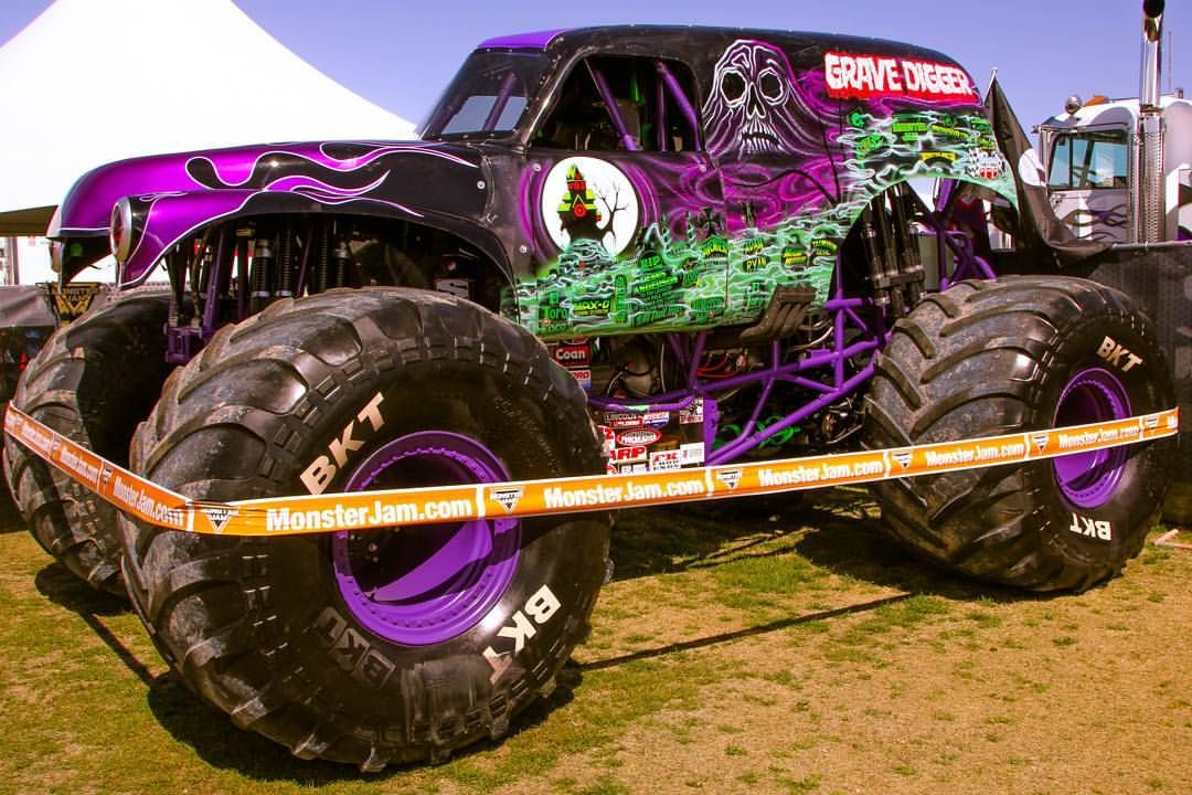 Purple Grave Digger Awesome Quick Message To My Favorite