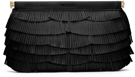 Milly Nikki Fringe Facile Clutch | #Chic Only #Glamour Always