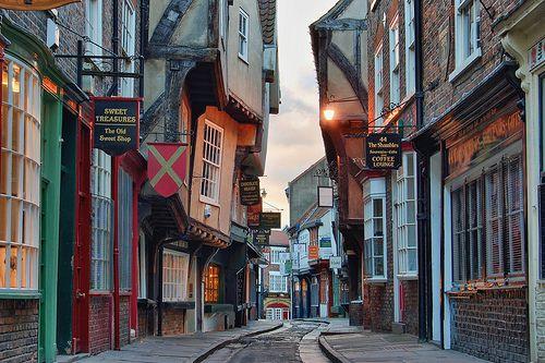 Resultado de imagen de Shambles Street – York – Inglaterra
