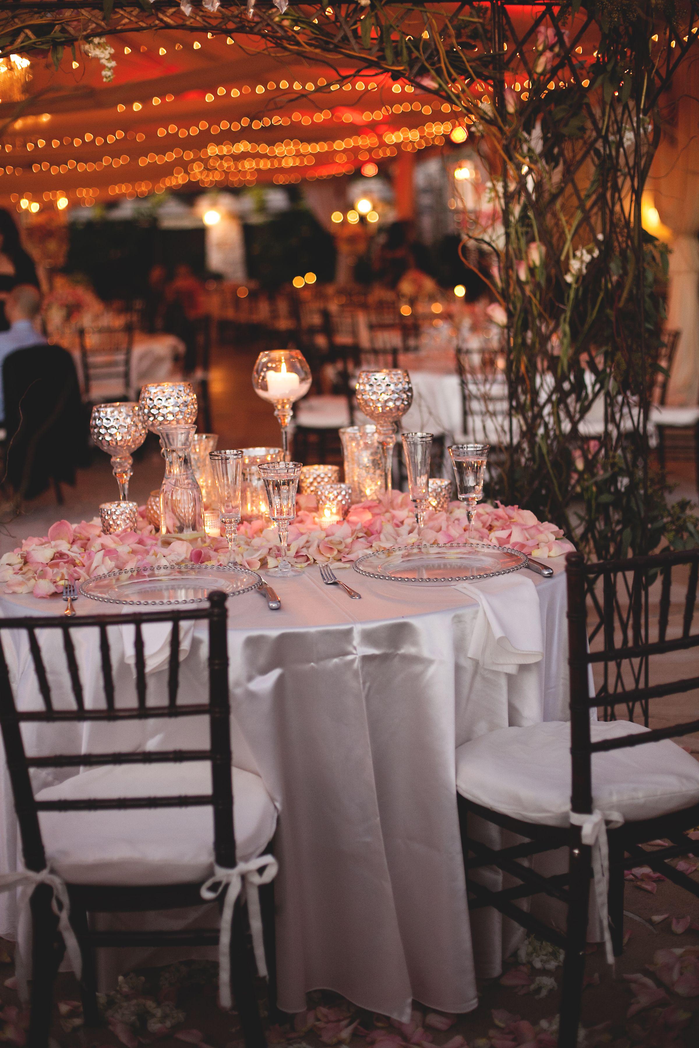 One World Theatre wedding. Tent lighting. Red lighting
