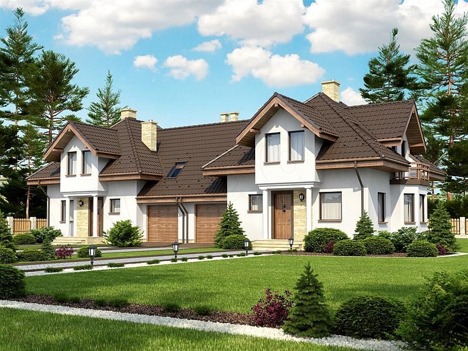 Projekt Domu Bari House Styles Mansions House