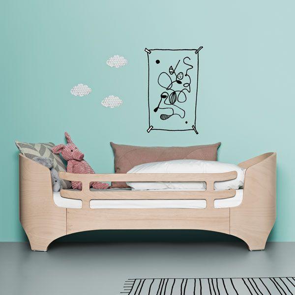 leander reling rausfallschutz f r kinderbett juniorbett kinder. Black Bedroom Furniture Sets. Home Design Ideas