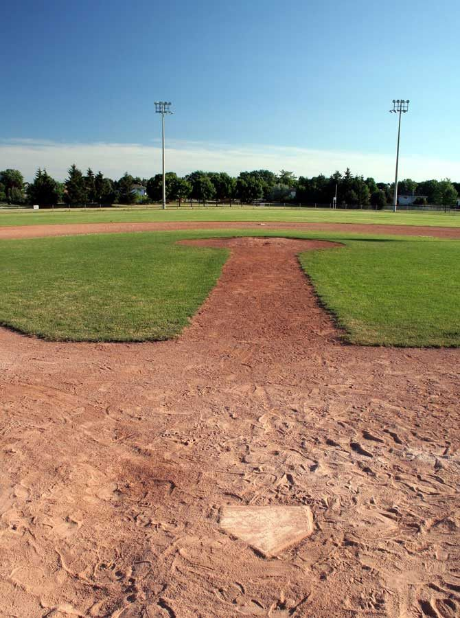Baseball Field Backdrop - 314
