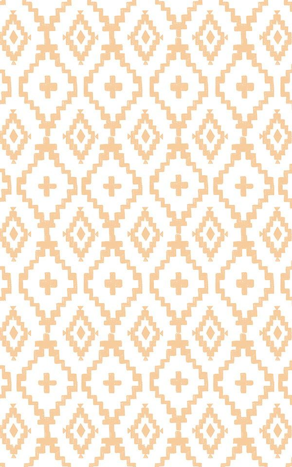 Aztec Diamonds Pattern Wallpaper Mural in 2020 Pattern