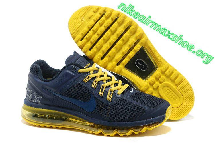Nike Air Max 2013 Old Royal Yellow 554967 420