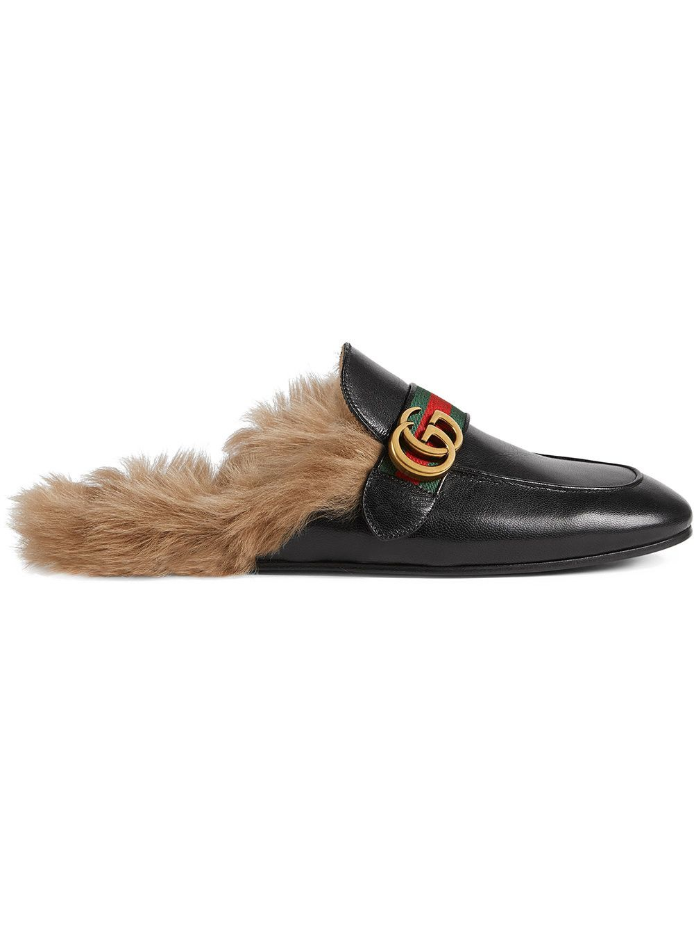 569eaa1f6 GUCCI Princetown Leather Slipper With Double G.  gucci  shoes ...