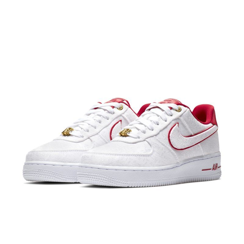 nike air force 1 07 rouge