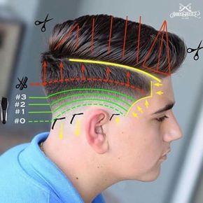 Resultado de imagen para diagram haircut