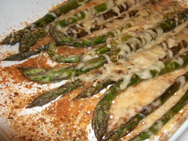 Baked Asparagus Recipe Genius Kitchen Veggie Dishes