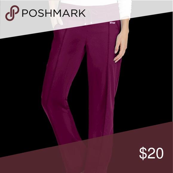 224833d7ec5 Greys anatomy scrub pants Wine colored greys anatomy scrub pants. yoga  pants style. super