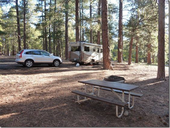 The North Rim Rv Pictures North Campground
