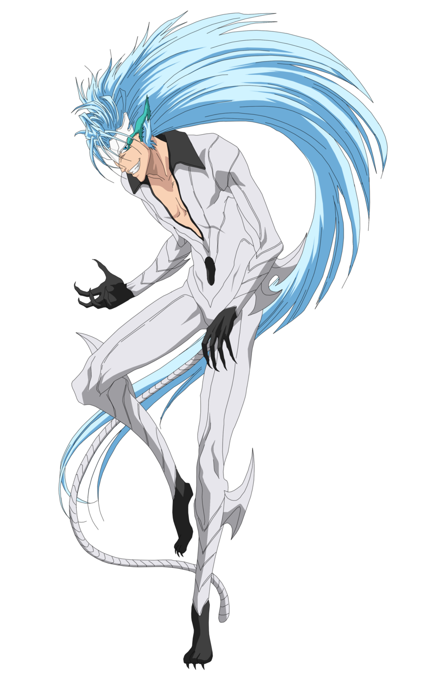 don t forget my name soul reaper and you better pray that you never hear it again grimmjow jaegerjaquez becau bleach anime bleach characters bleach art pinterest