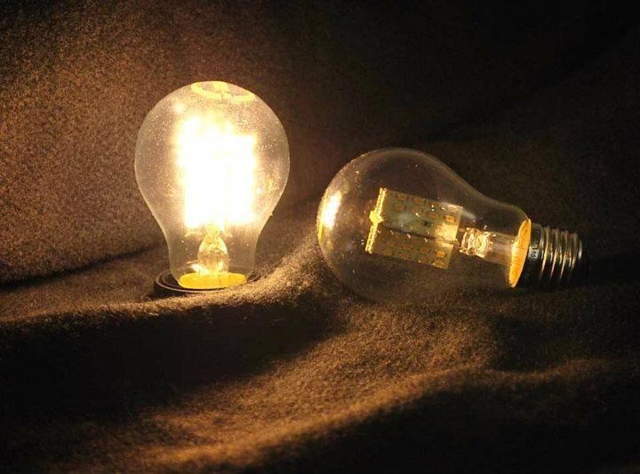 E27 Led Lampe In Gluhbirnenform Klar Leistung Verbrauch 4 1 Watt Statt 40 Watt Led Anzahl 80 Leds Leuchtfarbe Warm Leuchtfarbe Led Lampe Lichtstarke