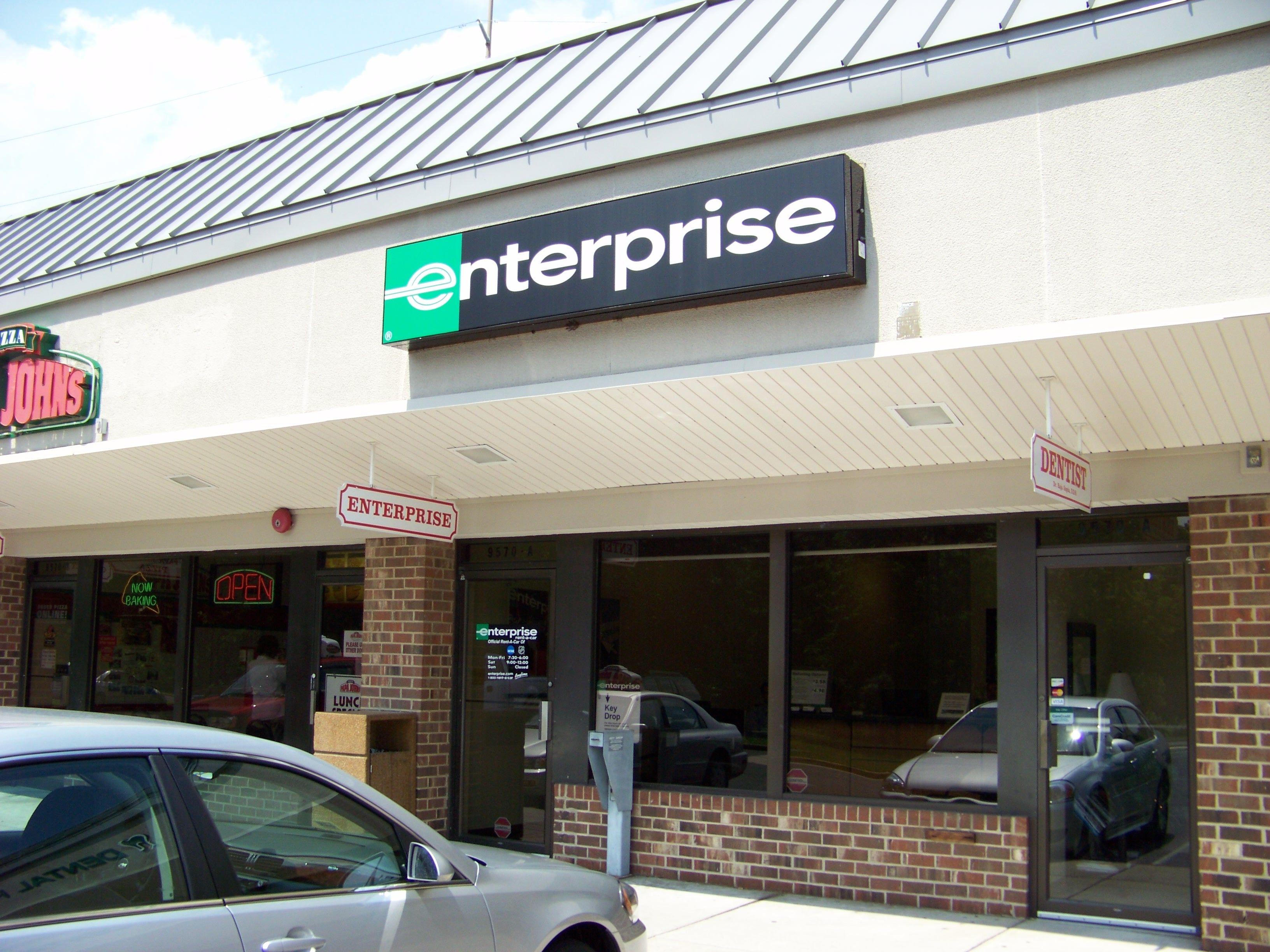 Enterprise Rent A Car 9570 A 1 Burke Road Burke Va 22015 3152 Enterprise Rent A Car Burke Enterprise