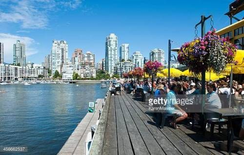08-15 Vancouver, Canada - August 19, 2011: Vancouver Skyline in... #granville: 08-15 Vancouver, Canada - August 19, 2011:… #granville