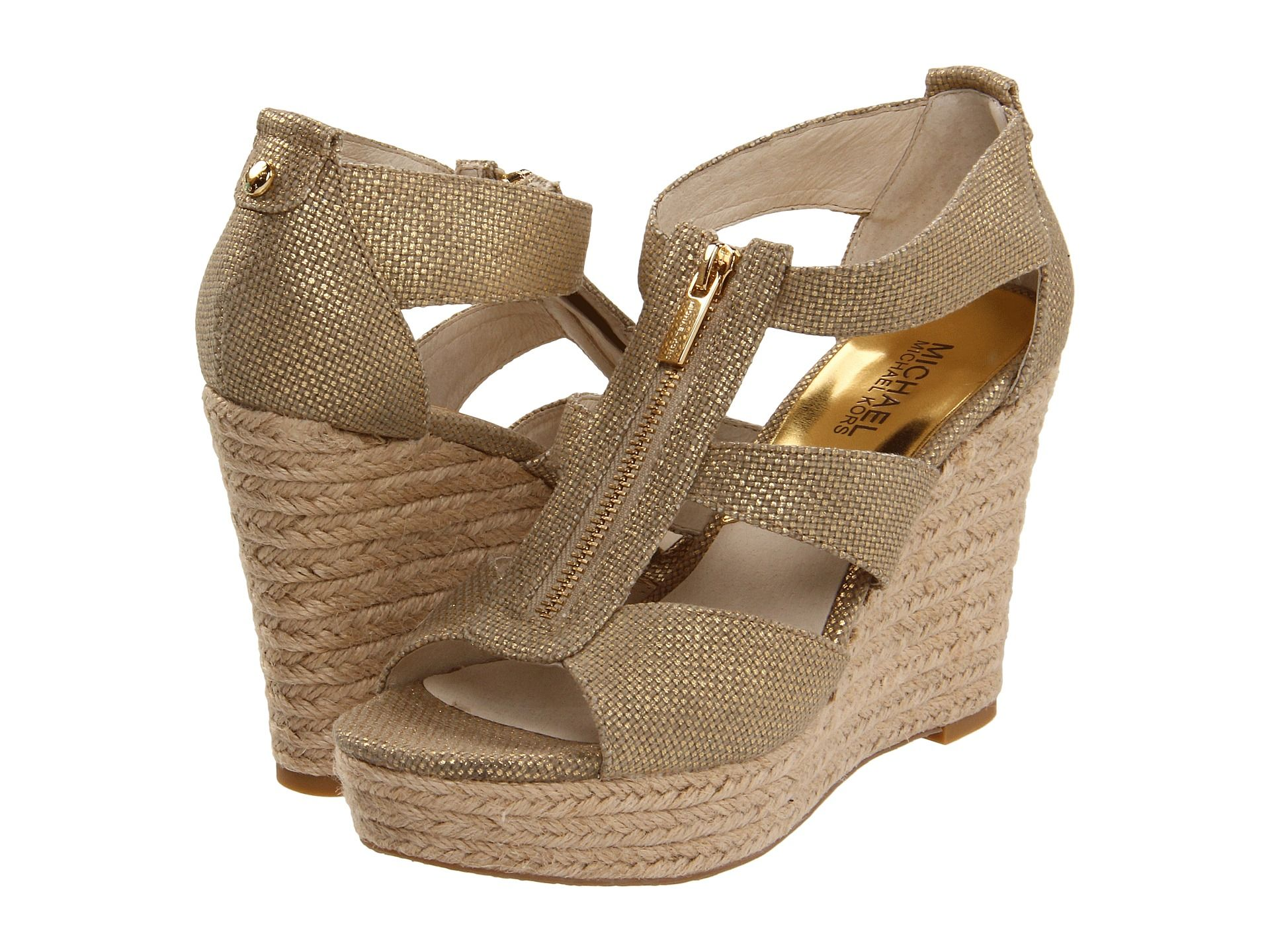 MICHAEL Michael Kors - Damita Wedge Price: $72 Your summery wardrobe will  thank you for
