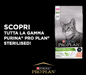 Sondaggio PetPassion vinci Omaggio Pro Plan Sterilised per gatti