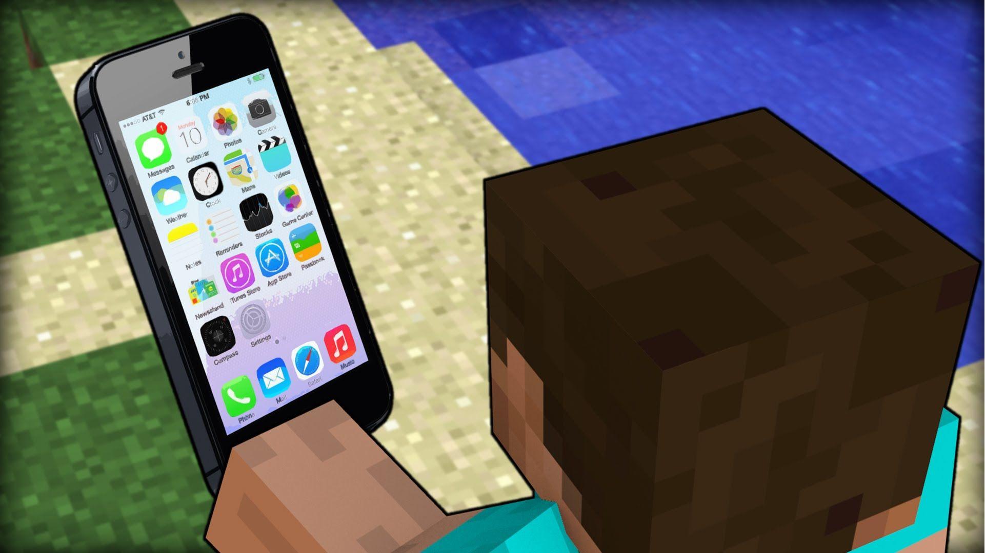 Minecraft IPHONE MOD YouTube Evas Pin It Page Pinterest - Minecraft ahnliche spiele iphone