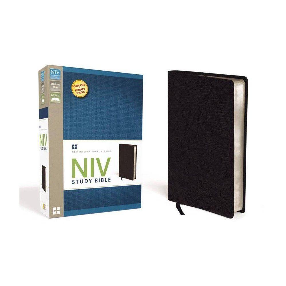 Study BibleNIV by Zondervan (Leather_bound) in 2019