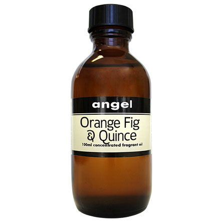 Orange Fig and Quince 100ml Fragrance Oil. Available at http://www.angelaromatics.com.au/fragrances/concentrated-aroma-oils/orange-fig-and-quince-concentrated-oil