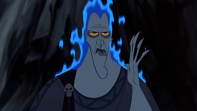 Hades-from-Hercules James Woods, the voice of Hades, once ...