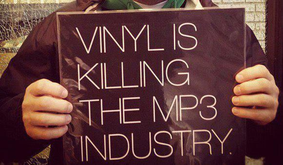 Vinyl is killing the MP3 industry