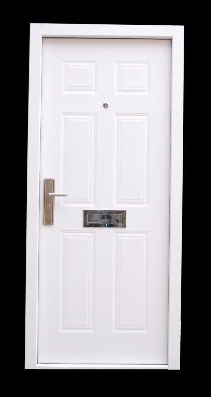 Marvelous 12 Point Locking High Security Steel Front Door Set (Heavy Duty)