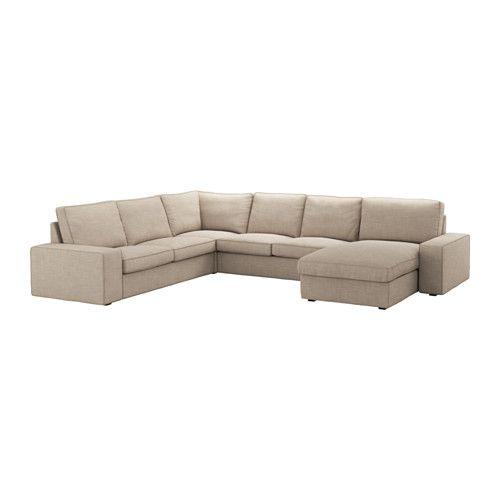 Kivik Sofa 5 Plazas Esquina Orrsta Chaiselongue Orrsta Gris