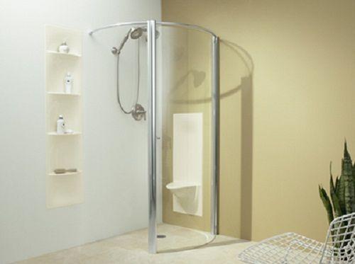 kohler cyan walk in shower