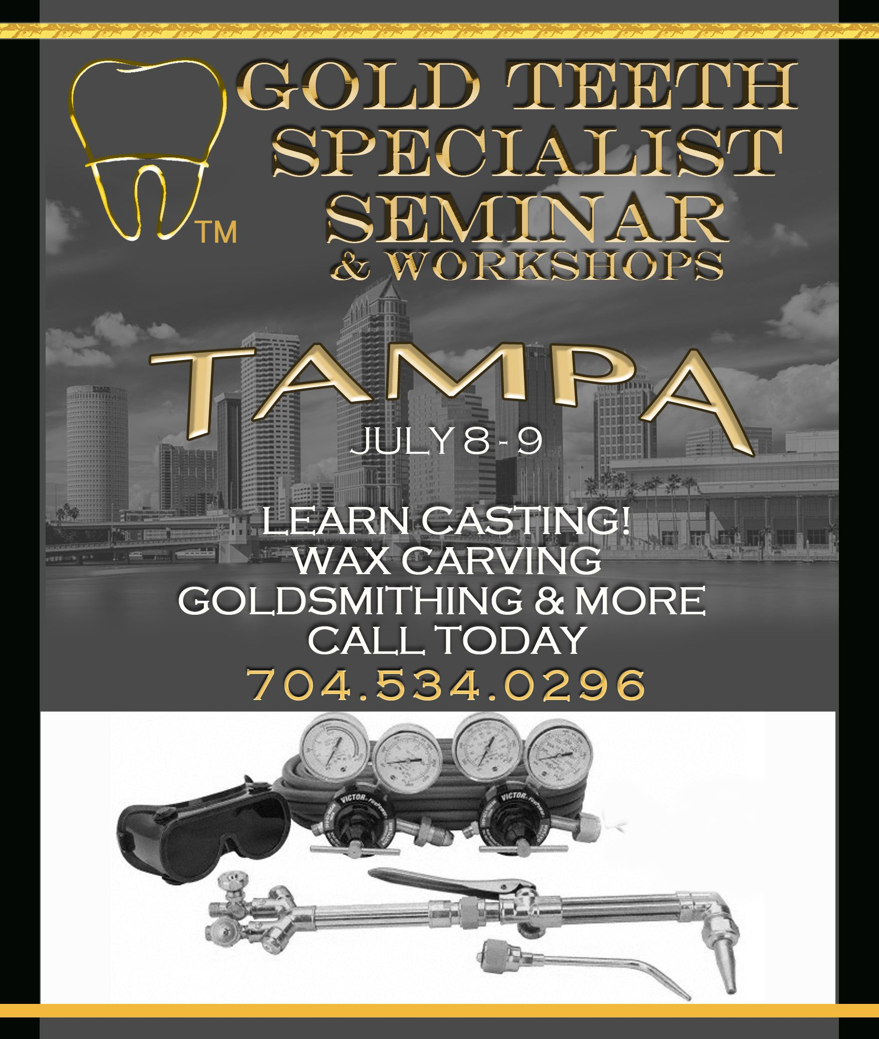 Siiminar Flyer Tampa Our Next Seminar Is In Florida And We Hope To See New And Old Faces If You Want More I Old Faces Grillz Wax Carving