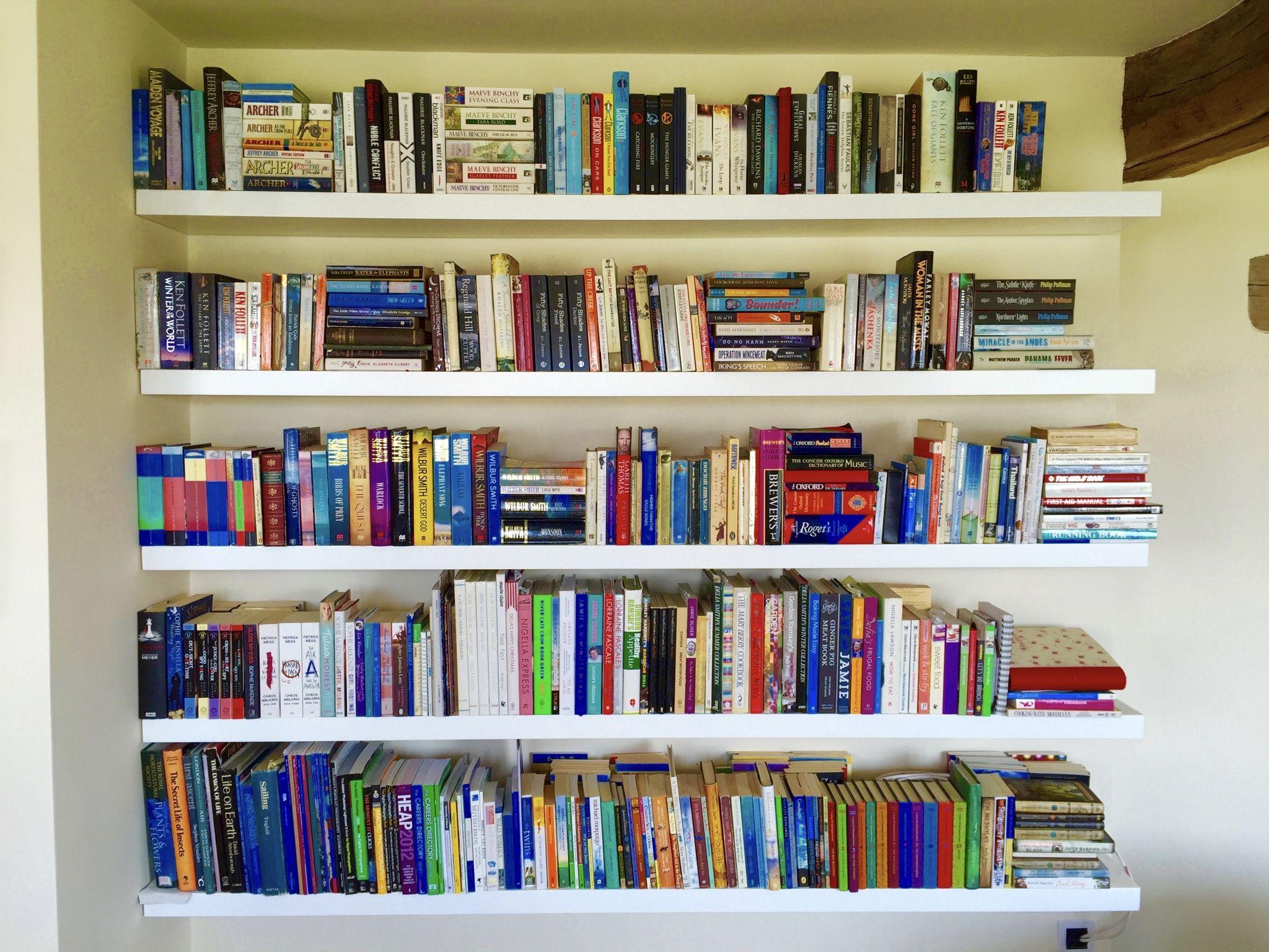 White Floating Book Shelves White Floating Shelves Shelves Wall Bookshelves