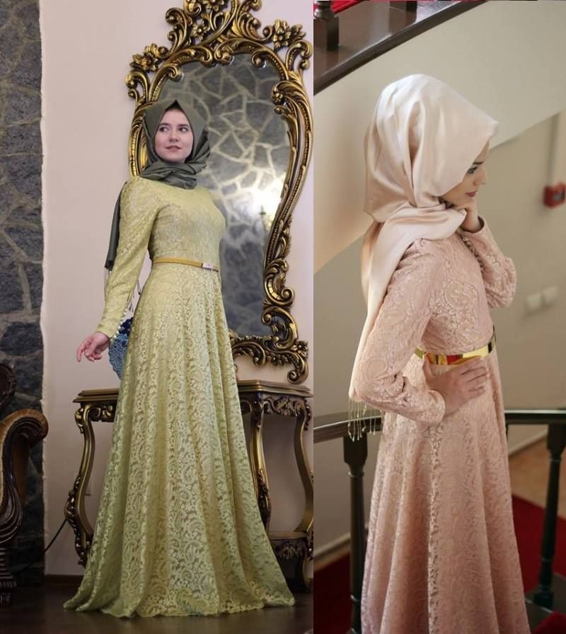 Hijab evening occasion turkish dress ♥ | Hijab Occasion Dress ...