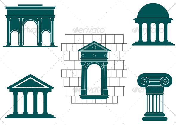 Symbols Of Ancient Buildings