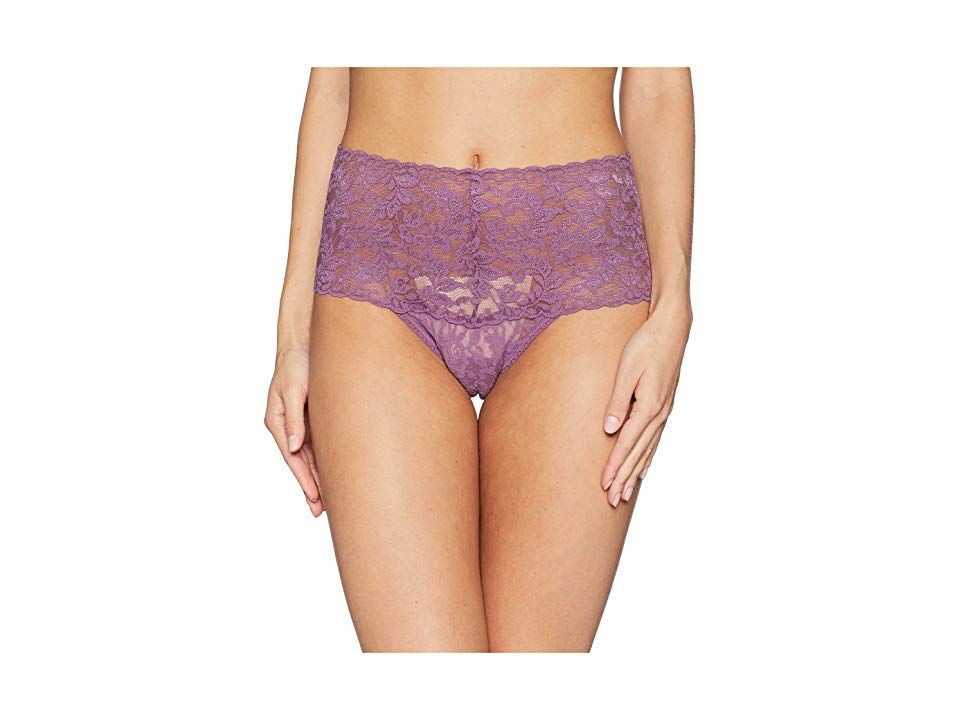 5c19c1161c9f Hanky Panky Signature Lace Retro Thong (Valiant Purple) Women's Underwear.  Dress glamorously from