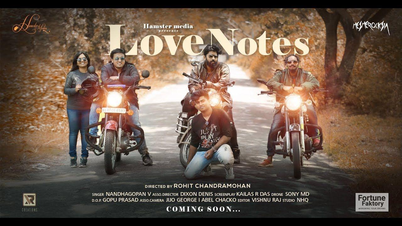 LoveNotes Hindi Music Cover Hamster Media Love Track   Hindi HD