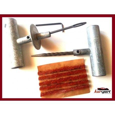Repara Pinchazos Con Herramientas Metalicas Con Mango Y Tope Metalico No Compre Ahorre Con 2 Reparaciones Suyas Habra Pagado Reparación Metal Herramientas